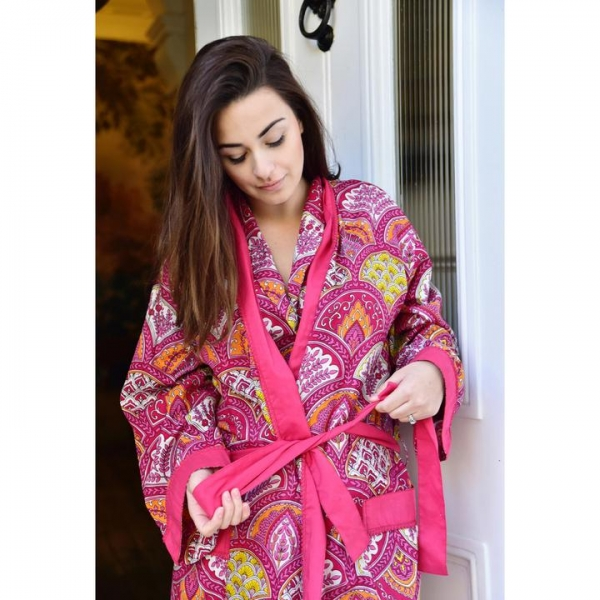 Raspberry paisley dressing gown.jpg